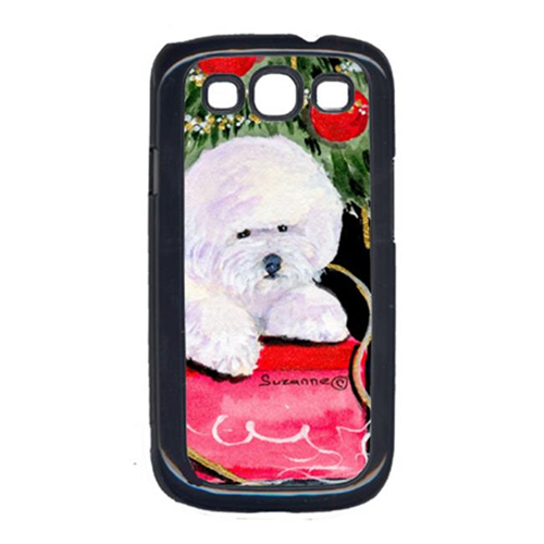 Carolines Treasures SS8957GALAXYSIII Christmas Tree with Bichon Frise Cell Phone Cover Galaxy S111