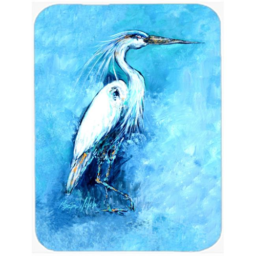 Carolines Treasures MW1202MP Standing Gaurd Egret Mouse Pad Hot Pad & Trivet