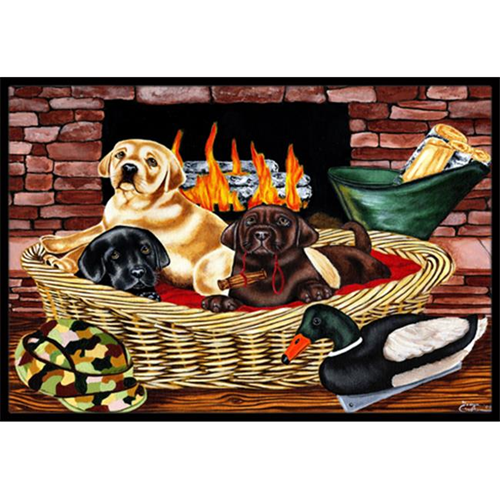 Carolines Treasures AMB1362MP The Next Generation Labrador Mouse Pad Hot Pad or Trivet