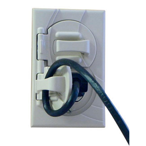 StayConnect IR300-DV Outlet Cover with Hook - Ivory