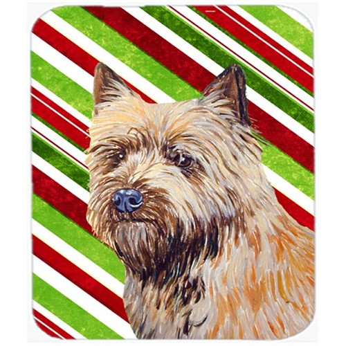 Carolines Treasures LH9230MP Cairn Terrier Candy Cane Holiday Christmas Mouse Pad Hot Pad Or Trivet