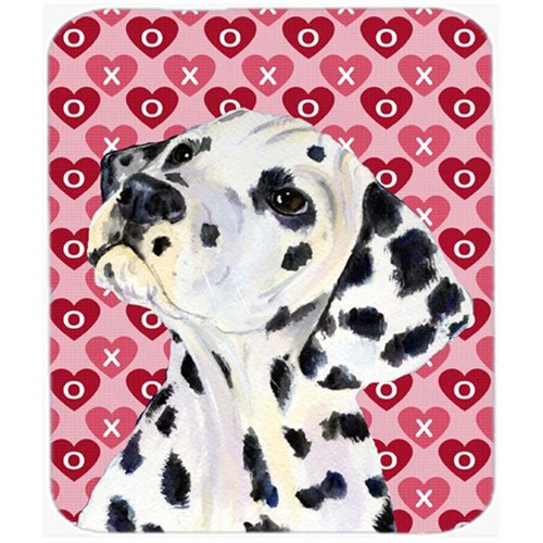 Carolines Treasures SS4492MP Dalmatian Hearts Love And Valentines Day Portrait Mouse Pad Hot Pad Or Trivet