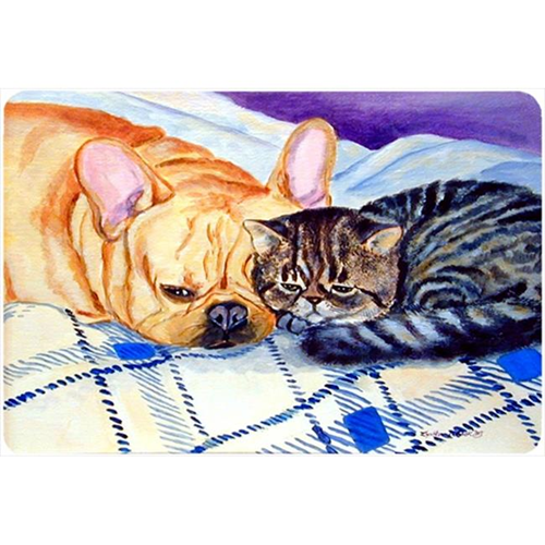 Carolines Treasures 7257MP Cat Mouse Pad Hot Pad Or Trivet