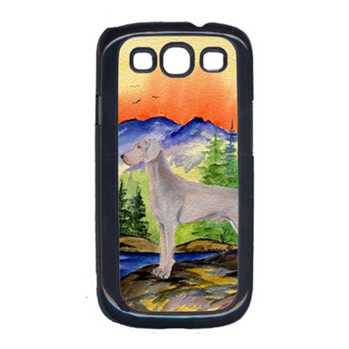Carolines Treasures SS8267GALAXYSIII Weimaraner Galaxy S111 Cell Phone Cover