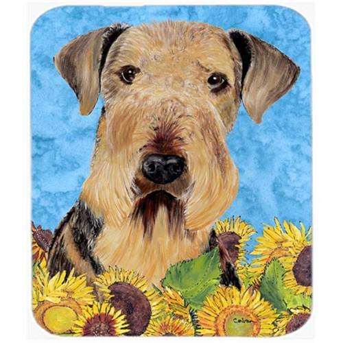 Carolines Treasures SC9069MP Airedale Mouse Pad Hot Pad Or Trivet