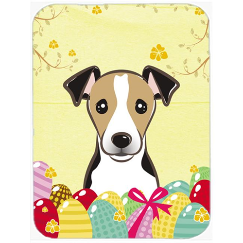 Carolines Treasures BB1943MP Jack Russell Terrier Easter Egg Hunt Mouse Pad Hot Pad or Trivet