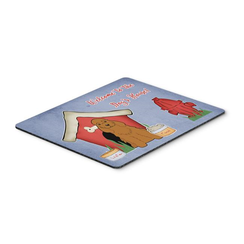 Carolines Treasures BB2849MP Dog House Collection Cocker Spaniel Red Mouse Pad Hot Pad or Trivet