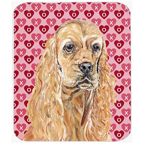 Carolines Treasures SC9556MP 7.75 x 9.25 in. Cocker Spaniel Valentines Love Mouse Pad Hot Pad or Trivet