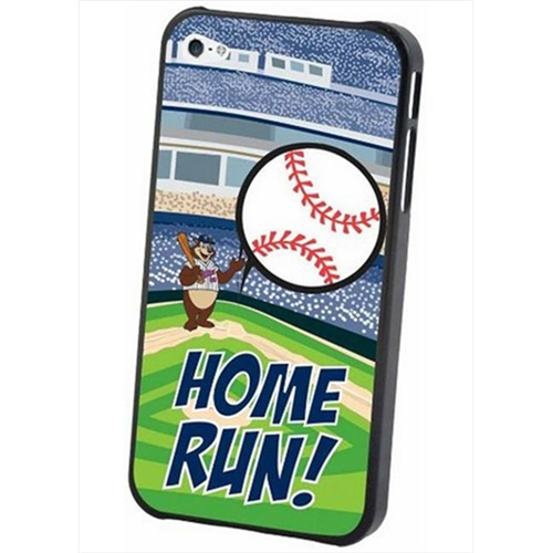 Pangea IP4L-MLB-MIN-MAS iPhone 4 & 4S MLB Minnesota Twins Mascot Lenticular Case