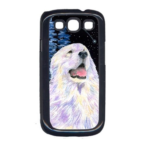 Carolines Treasures SS8466GALAXYSIII Starry Night Great Pyrenees Galaxy S111 Cell Phone Cover