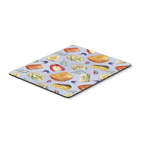 Carolines Treasures BB5198MP Assortment of Cheeses Mouse Pad Hot Pad or Trivet