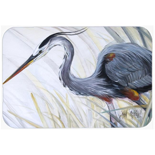 Carolines Treasures JMK1017MP Blue Heron Frog Hunting Mouse Pad Hot Pad & Trivet