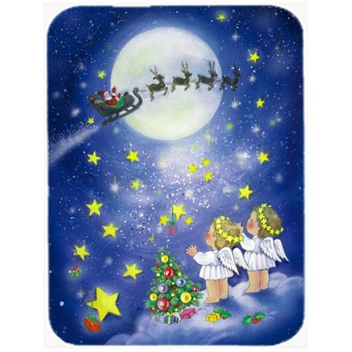 Carolines Treasures APH0690MP Angels Watching Santa Claus Mouse Pad Hot Pad or Trivet