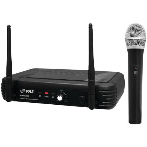 PylePro PDWM1800 Premier Series Professional UHF Wireless Handheld Microphone System