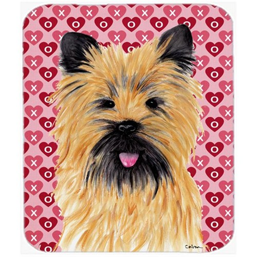 Carolines Treasures SC9264MP Cairn Terrier Hearts Love And Valentines Day Mouse Pad Hot Pad Or Trivet