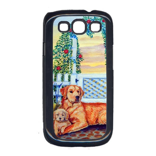 Carolines Treasures 7148GALAXYSIII Golden Retriever With Puppy At The Gate Galaxy S111 Cell Phone Cover