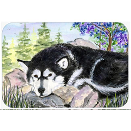 Carolines Treasures SS8062MP Alaskan Malamute Mouse Pad Hot Pad & Trivet