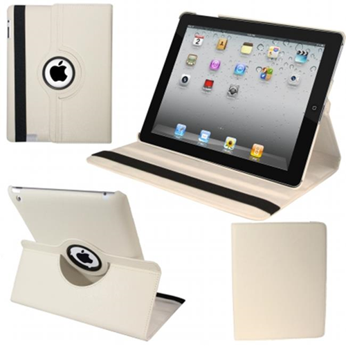 Natico 60-IM360-WH IPAD MINI 360 CASE FAUX WHITE