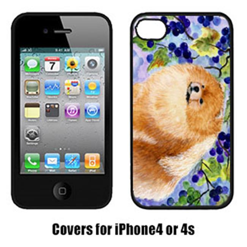 Carolines Treasures SS8251IP4 Pomeranian Cell Phone cover IPhone 4