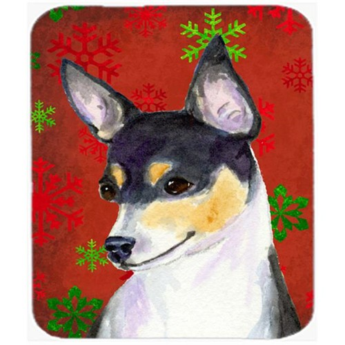 Carolines Treasures SS4725MP Chihuahua Snowflakes Holiday Christmas Mouse Pad Hot Pad or Trivet