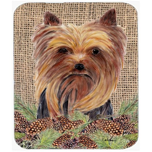Carolines Treasures SC9046MP Yorkie Mouse Pad Hot Pad Or Trivet