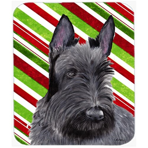 Carolines Treasures SC9346MP Scottish Terrier Candy Cane Holiday Christmas Mouse Pad Hot Pad or Trivet