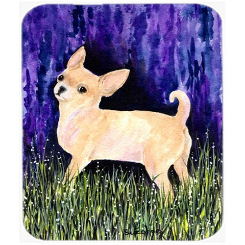 Carolines Treasures SS8514MP Starry Night Chihuahua Mouse Pad Hot Pad or Trivet