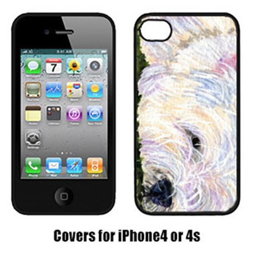 Carolines Treasures SS8831IP4 Westie Iphone 4 Cover