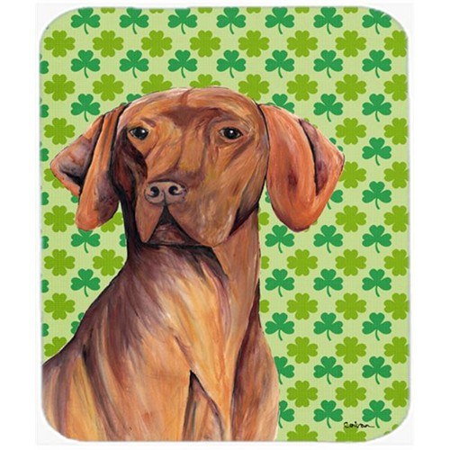 Carolines Treasures SC9298MP Vizsla St. Patricks Day Shamrock Portrait Mouse Pad Hot Pad or Trivet