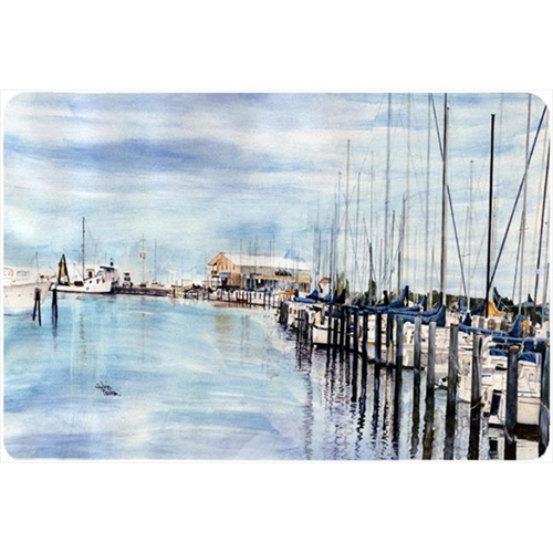 Carolines Treasures 8128MP 9.25 x 7.75 in. The Warf Mouse Pad Hot Pad Or Trivet