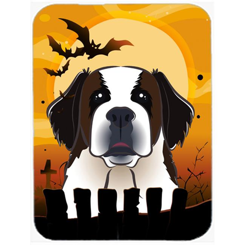 Carolines Treasures BB1804MP Halloween Saint Bernard Mouse Pad Hot Pad & Trivet