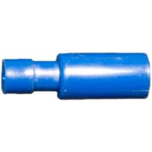 Morris Products 12064 Nylon Fully Insulated Double Crimp Bullet Disconnects - 16-14 Wire.157 Bullet Pack Of 100