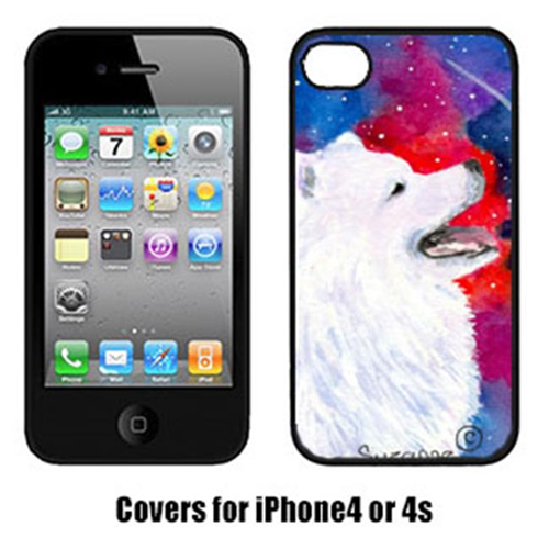 Carolines Treasures SS8752IP4 Samoyed Iphone4 Cover