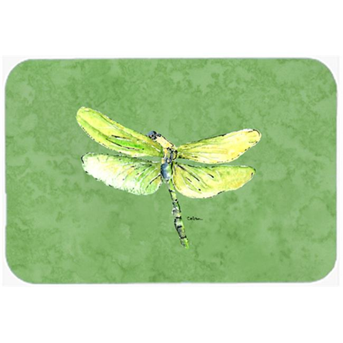 Carolines Treasures 8864MP Dragonfly on Avacado Mouse Pad Hot Pad or Trivet