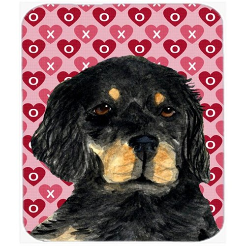 Carolines Treasures SS4515MP Gordon Setter Hearts Love And Valentines Day Mouse Pad Hot Pad Or Trivet