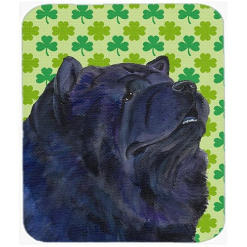 Carolines Treasures SS4432MP Chow Chow St. Patricks Day Shamrock Portrait Mouse Pad Hot Pad Or Trivet