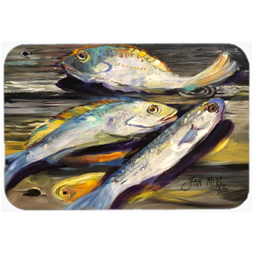 Carolines Treasures JMK1116MP Fish On The Dock Mouse Pad Hot Pad & Trivet