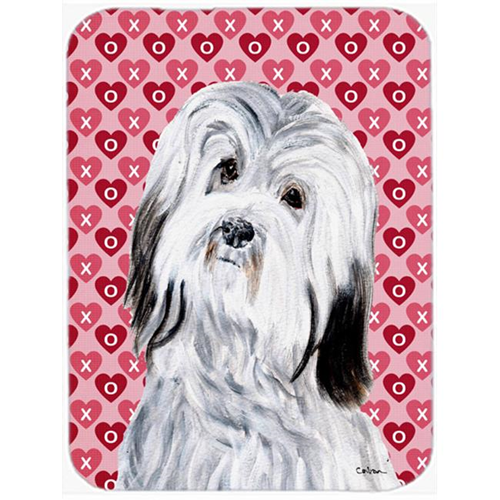Carolines Treasures SC9713MP Havanese Hearts And Love Mouse Pad Hot Pad Or Trivet 7.75 x 9.25 In.