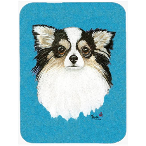 Carolines Treasures MH1029MP Chihuahua Blue Portrait Mouse Pad Hot Pad & Trivet