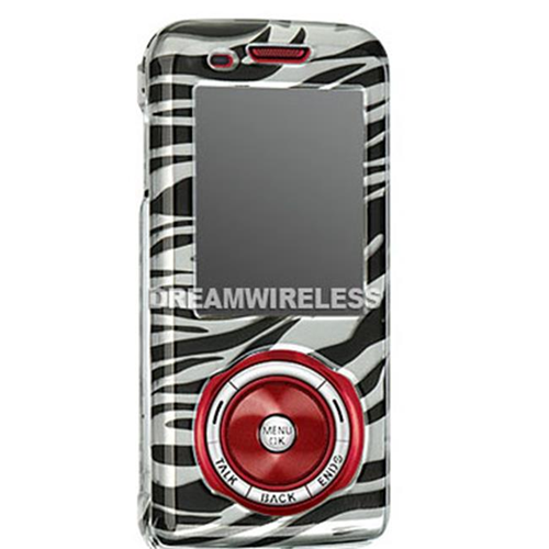 DreamWireless CASAMM630SLZ Samsung M630 Crystal Case Silver Zebra