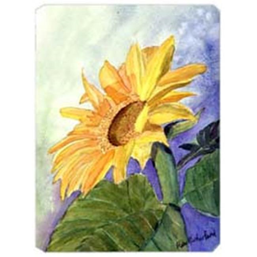 Carolines Treasures RDR2001MP 9.5 x 8 in. Flower - Sunflower Mouse Pad Hot Pad Or Trivet