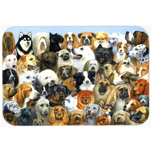 Carolines Treasures BDBA0441MP Fifty One Dogs Mouse Pad Hot Pad or Trivet