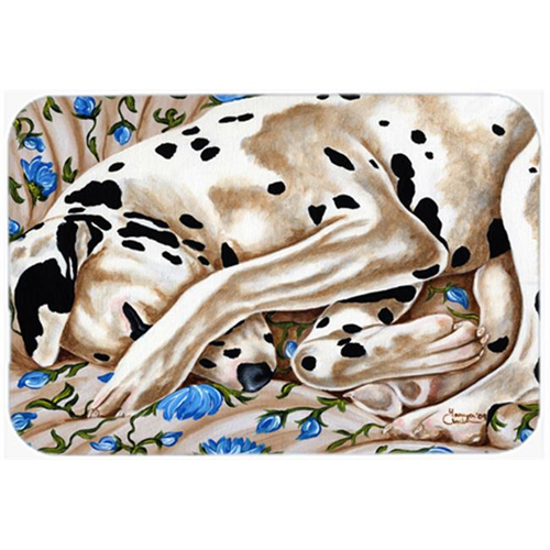 Carolines Treasures AMB1407MP Bed of Roses Dalmatian Mouse Pad Hot Pad or Trivet