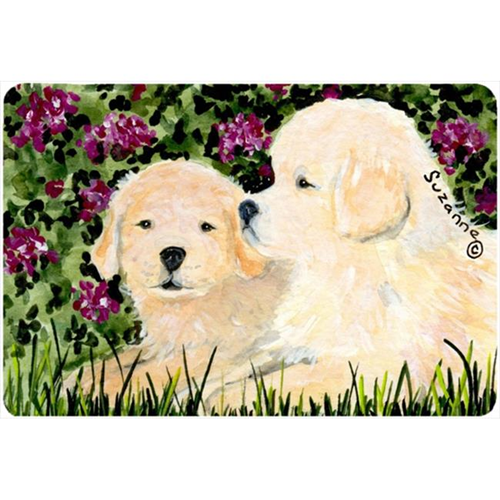 Carolines Treasures SS8826MP Golden Retriever Mouse pad hot pad or trivet