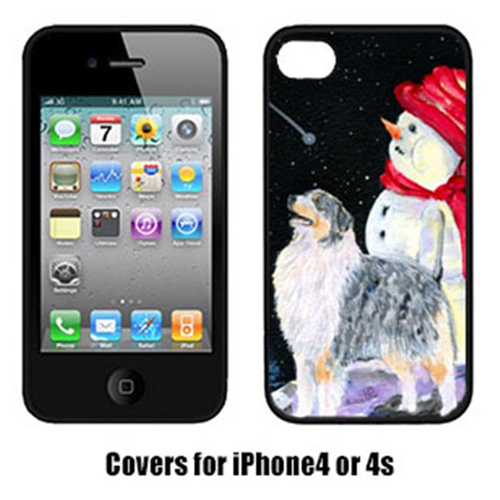Carolines Treasures SS8574IP4 Australian Shepherd Iphone4 Cover