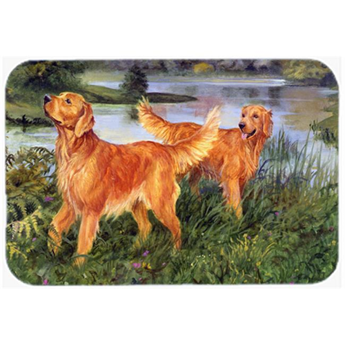 Carolines Treasures HEH0098MP Golden Retrievers Mouse Pad Hot Pad or Trivet