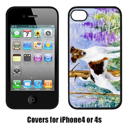 Carolines Treasures SS8640IP4 Jack Russell Terrier Cell Phone Cover Iphone4
