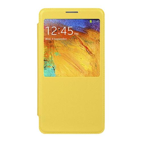 DreamWireless BCFSAMNOTE3YLSV Samsung Galaxy Note 3 Battery Cover Flip Yellow