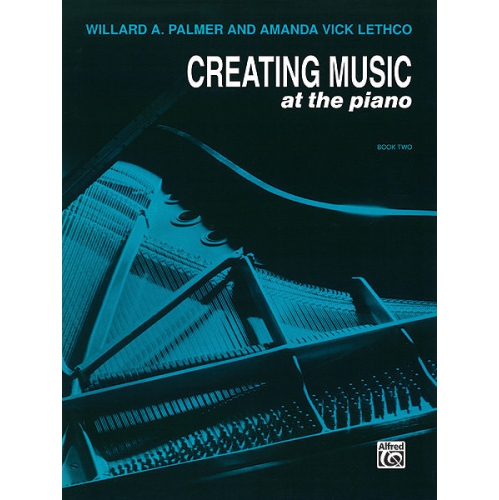 Alfred 00 552 Creating Music At The Piano Lesson Book Book 2