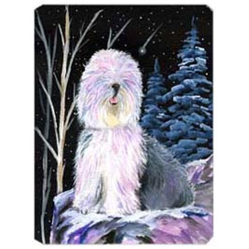 Carolines Treasures SS8409MP Starry Night Old English Sheepdog Mouse Pad